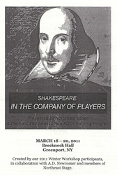 Shakespeare: In the Company of Players, 2011