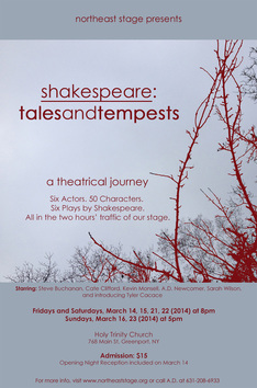 shakespeare: tales and tempests, 2014